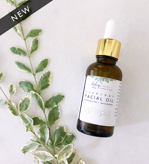 Everyday Tightening and Balancing Facial Oil